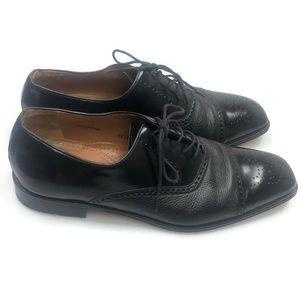 Mezlan   Cap Toe Oxfords Black Size 13 EUC